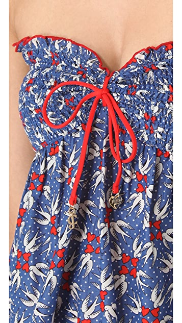 Juicy Couture Love Birds Cover Up Dress