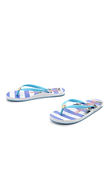 Juicy Couture Filly Flip Flops