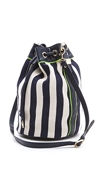 Juicy Couture Willow Canvas Bucket Bag