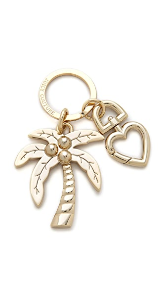 Juicy Couture Palm Tree Keychain