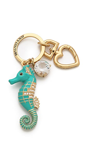 Juicy Couture Seahorse Key Fob