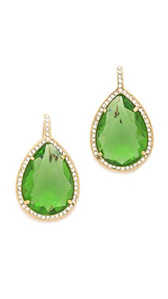 Juicy Couture Pave Teardrop Earrings