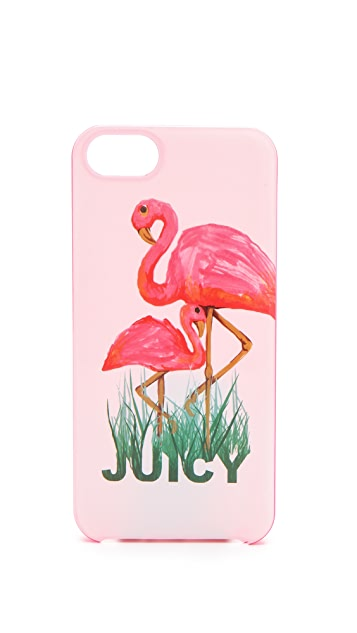 Juicy Couture Flamingo iPhone Case