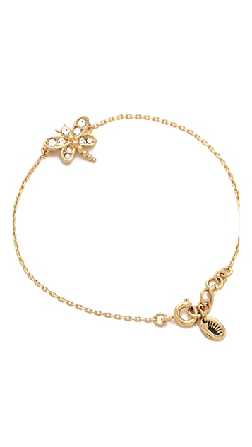 Juicy Couture Pave Dragonfly Bracelet