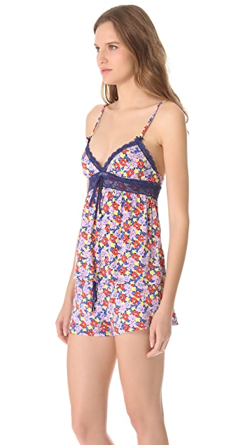 Juicy Couture Riviera Pansy Print Camisole