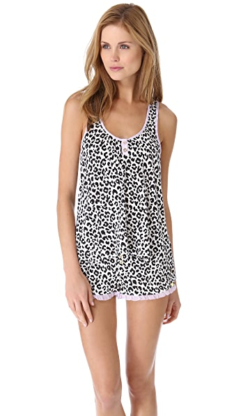 Juicy Couture Boudoir Leopard Tank