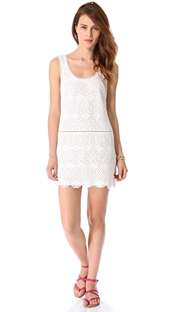 Juicy Couture Crochet Lace Tank Dress