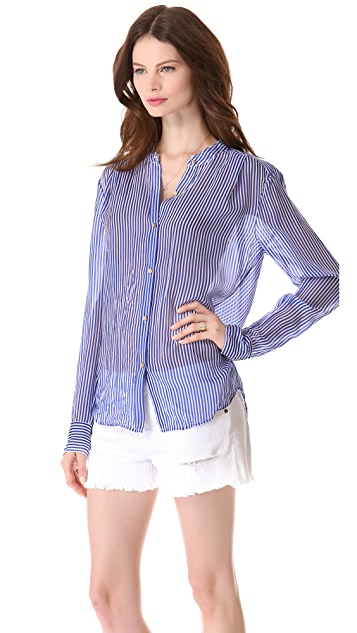 Juicy Couture Moonlight Striped Blouse