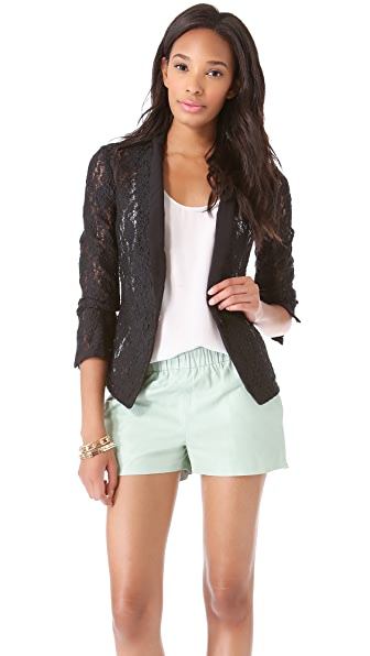 Juicy Couture Stretch Lace Blazer