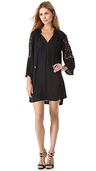 Juicy Couture Golden Flower Dress