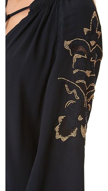 Juicy Couture Golden Flower Dress