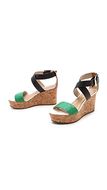 Juicy Couture Forrest Wedge Sandals