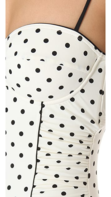 Juicy Couture Itsy Bitsy Polka Dot One Piece