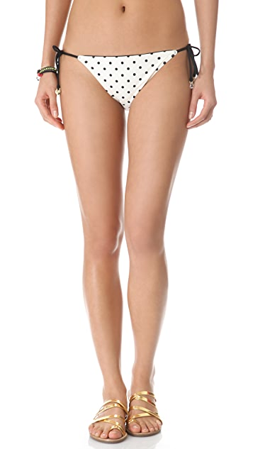 Juicy Couture Itsy Bitsy Polka Dot Bikini Bottoms