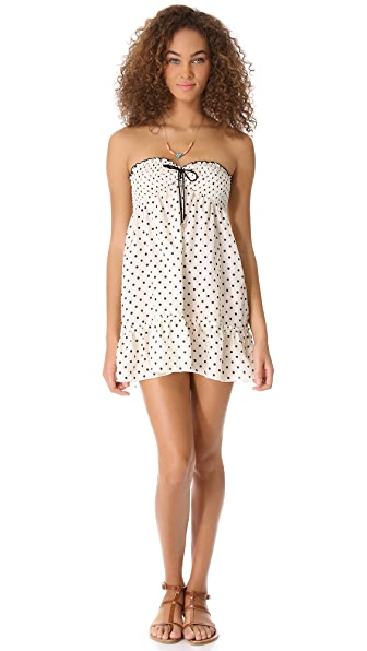Juicy Couture Polka Dot Cover Up Dress