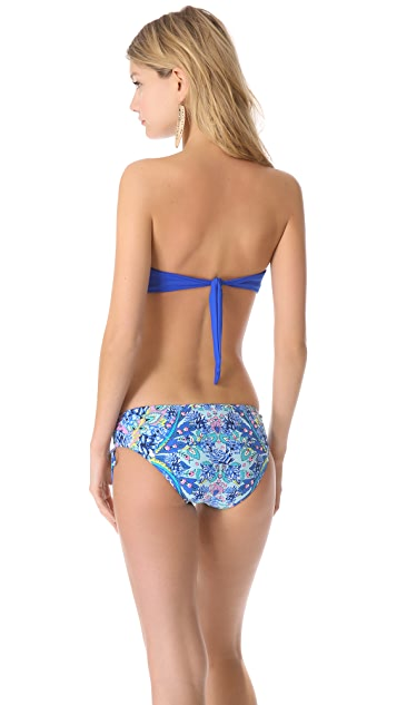 Juicy Couture Miss Divine Hearts Bandeau Bikini Top