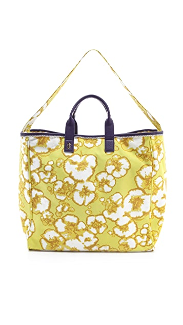 Juicy Couture Printed Canvas Beach Tote