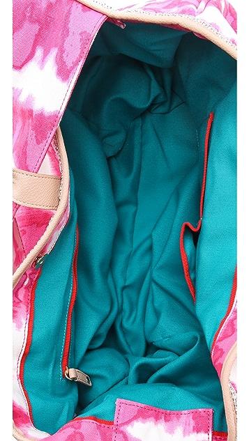 Juicy Couture Tye Dye Canvas Beach Tote