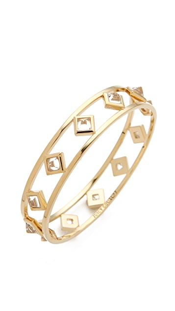 Juicy Couture Crystal Pyramid Bangle