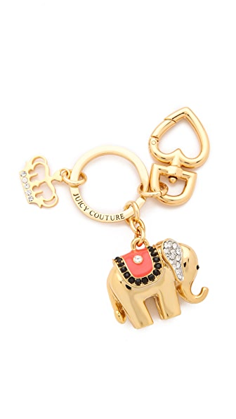 Juicy Couture Elephant Keychain
