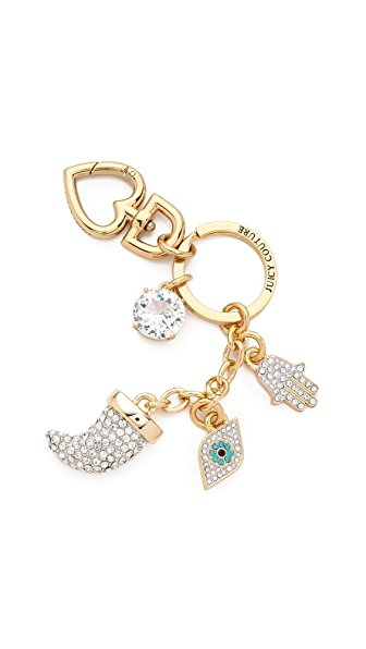 Juicy Couture Horn Keychain