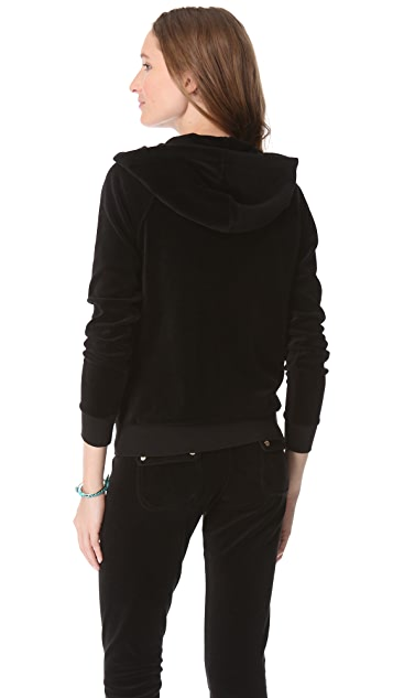 Juicy Couture Relaxed Velour Hoodie