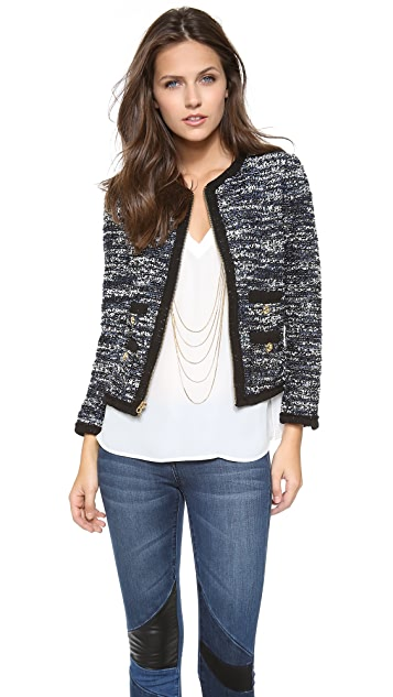 Juicy Couture Clara Tweed Jacket