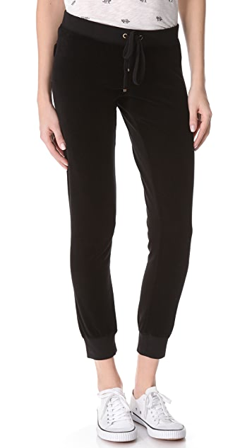 Juicy Couture Slim Velour Pants