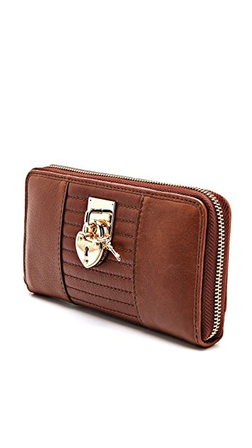Juicy Couture Signature Zip Wallet