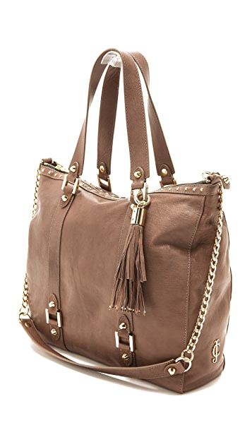 Juicy Couture Zip Top Tote