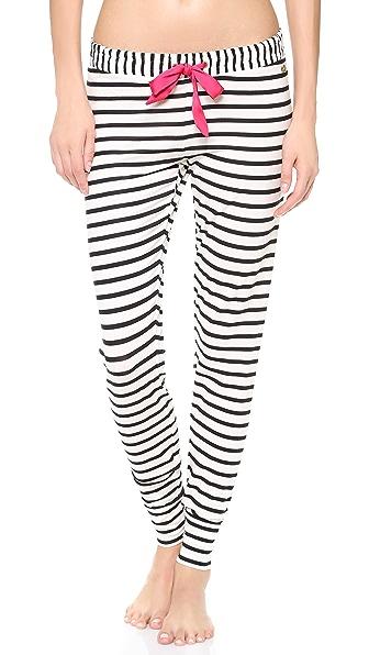 Juicy Couture Stripe Modal Pants