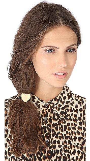 Juicy Couture Juicy Heart Hair Tie