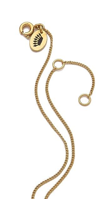 Juicy Couture Pave Dagger Necklace
