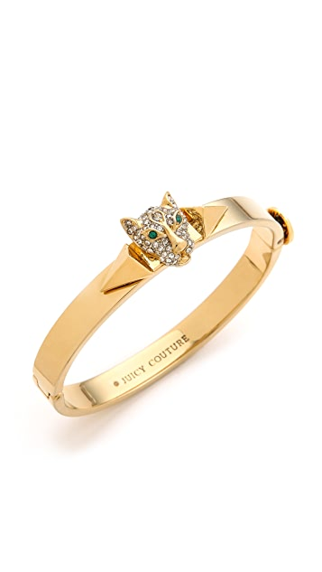 Juicy Couture Pave Panther Bangle Bracelet