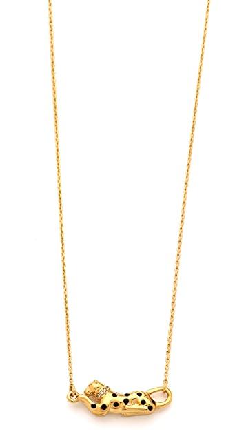 Juicy Couture Panther Charm Necklace
