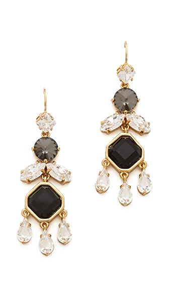 Juicy Couture Teardrop Chandelier Earrings