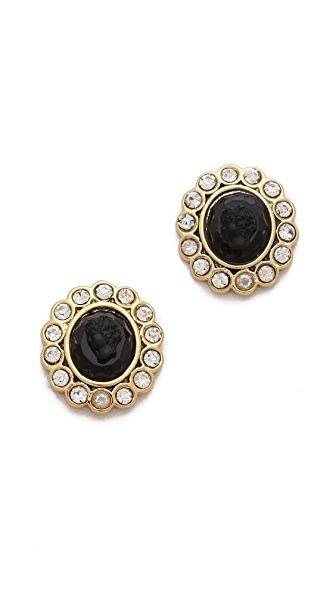 Juicy Couture Cameo Stud Earrings