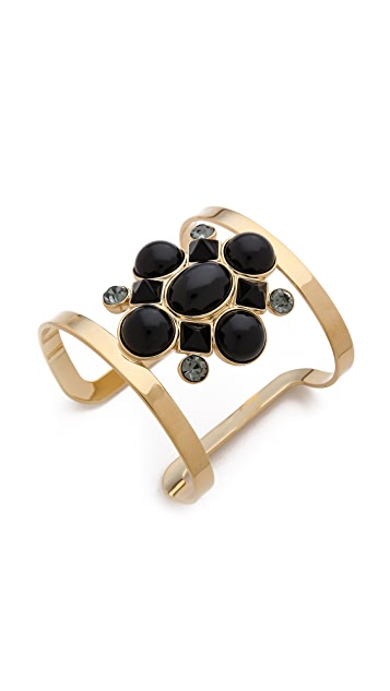 Juicy Couture Cabochon Cluster Open Cuff