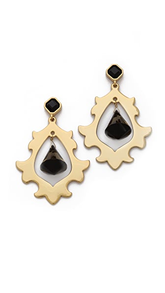 Juicy Couture Openwork Chandelier Earrings