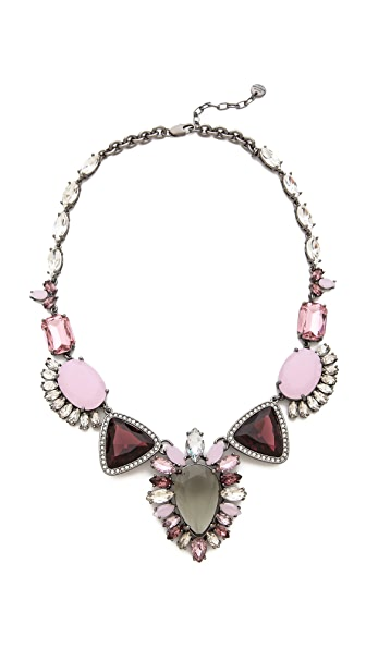 Juicy Couture Oversized Gemstone Drama Necklace