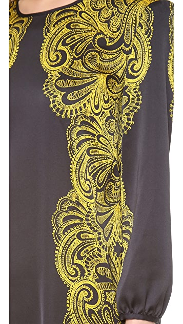 Juicy Couture Bohemian Paisley Dress