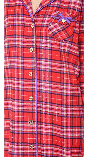Juicy Couture Flannel Nightshirt