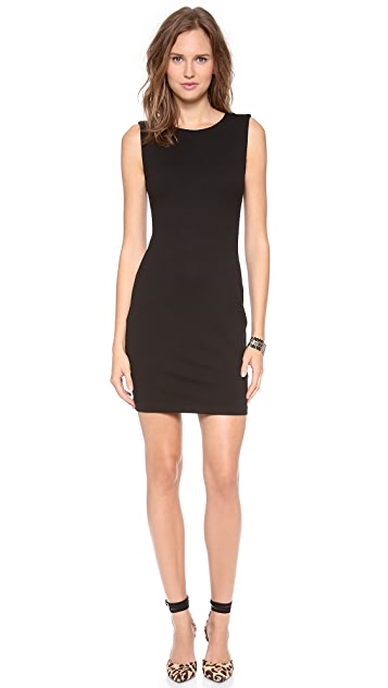 Juicy Couture Solid Ponte Dress