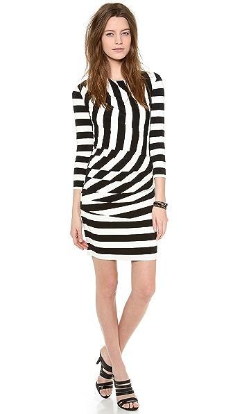 Juicy Couture Promenade Stripe Dress