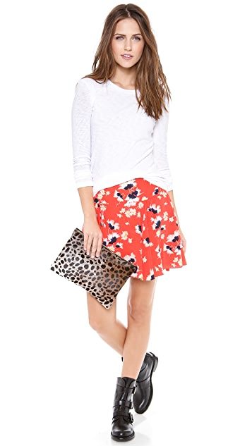 Juicy Couture Feathery Floral Skirt