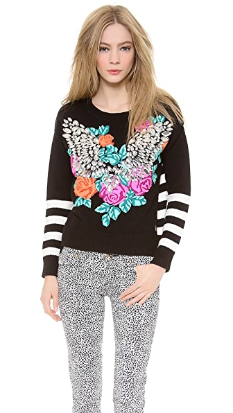 Juicy Couture Crystal Wings Pullover