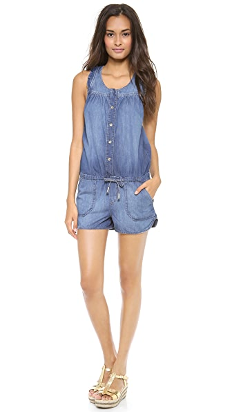 Juicy Couture Denim Romper
