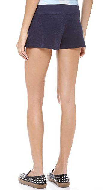 Juicy Couture Micro Terry Drawstring Shorts