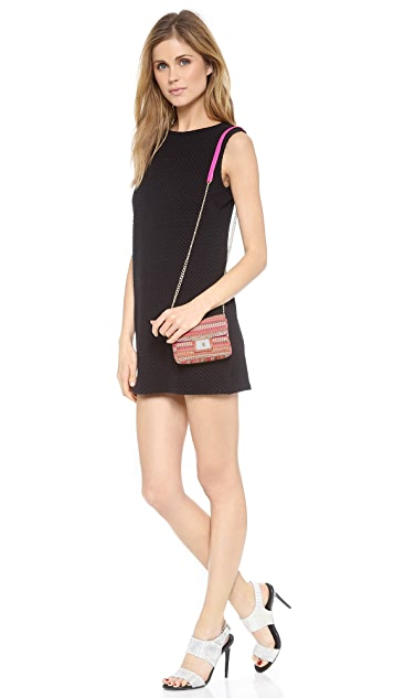 Juicy Couture Rosewood Mini G Stripe Bag