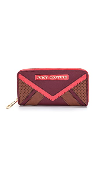 Juicy Couture Sierra Colorblock Zip Continental